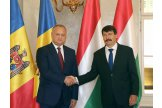 Moldovan president meets Hungarian counterpart in