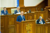 Moldovan parliament approves new structure of gove