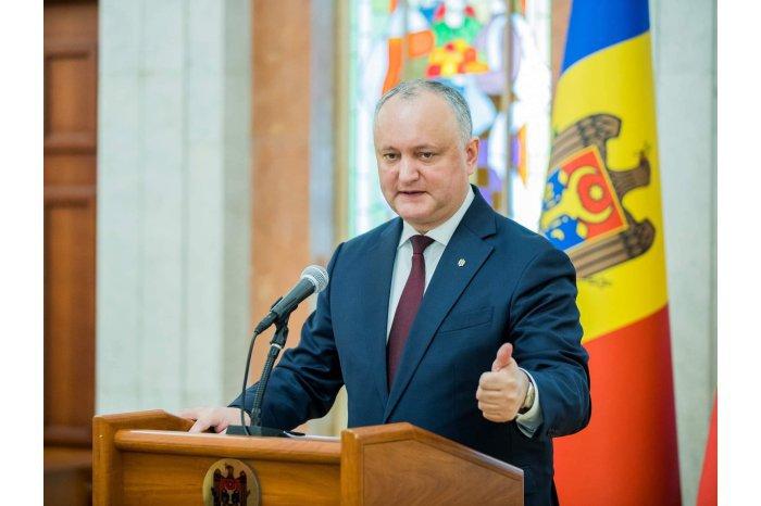 Додон: По самому мрачному сценарию, бюджет Молдовы может потерять 300 млн евро
