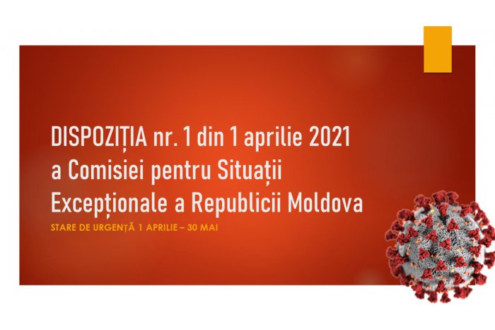 На всей территории Республики Молдова установлен особый режим труда