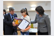"The national drawing competition ""Migration through the eyes of children""'"