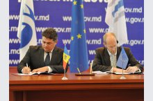 The signing of loan agreements with European Bank for Reconstruction and Development and the European Investment Bank on Moldova – Romania electricity interconnection'