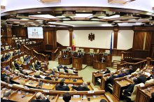 Newly-elected Moldovan parliament holds the first meeting '
