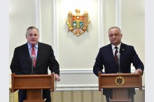 President Igor Dodon met with President of the International Organization for the Family Brian Brown'