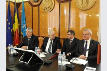 A round table was held at the Academy of Sciences of Moldova on the Centenary of the Unification'