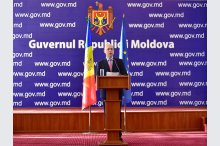 Prime Minister Pavel Filip held a press conference on two years of government's activity'