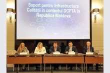 The launch of the EU-funded project: Support for the Quality Infrastructure Framework in the DCFTA in Moldova'