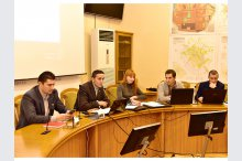 Roundtable on the preparation of a project on easing the traffic and improving the quality of transport in the Moldovan capital'