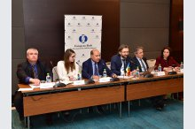 The press conference held by President of the EBRD Suma Chakrabarti'