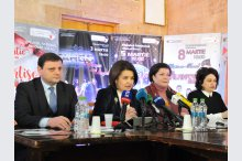 The Education, Culture and Research Ministry organized a news conference on the occasion of the holding of the 52nd issue of the Martisor International Music festival'
