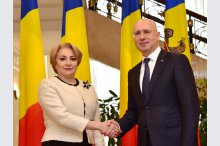 Bilateral meeting of Prime Ministers Pavel Filip and Viorica Dancila'