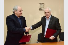MOLDPRES signs partnership agreement with Mihai Eminescu Theater'