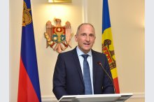 Prime Minister Pavel Filip and Prime Minister of Liechtenstein Adrian Hasler made press statements'