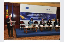 The launch of EU–funded project at the Palace of the Republic'