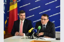 Press conference on organisation of exhibition: Moldova presents, in Brasov, Romania'