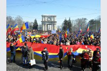 The Great Centenary Assembly was held on the Great National Assembly Square in Chisinau, in the context of the Centenary of Bessarabia's Union with Romania'