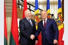 The  meeting between Presidents of Moldova and Belarus'
