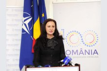 Minister for Romanians, Natalia Elena Intotero, the Romanian Embassy in Chisinau invited to the award ceremony in ARC Camps 2018 '