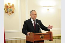 President Igor Dodon gave a news conference on Moldova getting the status of observer in the Eurasian Economic Union'