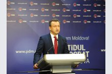 Press briefing of the Democratic Party of Moldova'