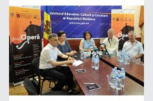 A news conference on the holding of the third issue of the descOPERĂ Classical Music Festival'