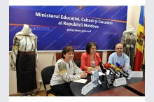 The Ministry of Education, Culture and Research held a press conference on occasion of 3rd issue of the National Day of folk costumes'