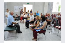The event for assessment and distribution of wheelchairs for people with disabilities '