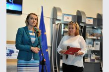 The exhibition and event, Council of Europe – Moldova: achievements and priorities'