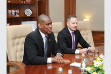 Moldovan PM meets US envoy'