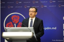 News briefing by Moldova's Democratic Party  '
