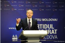 News conference by Moldova's Democratic Party '