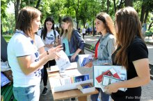 The Federation of Young Romanians Abroad organised the Romanian Universities Fair '