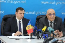 News briefing held by Moldova's Interior Minister Andrei Nastase, the head of the General Inspectorate for Emergency Situations, Mihail Harabagiu and the state secretary at the Interior Ministry of Romania, Raed Arafat      '