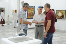 The inauguration of the exhibition, Moldova's Saloons, the 29th issue'