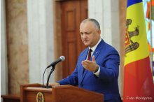 Moldovan president provides details about visits to Moscow, Brussels'