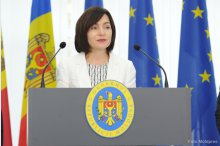 Prime Minister Maia Sandu holds a news conference on the report of activity for the first 100 days of mandate  '