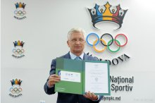 News conference held by Moldova's National Olympic Committee, during which an invitation on behalf of the International Olympic Committee to participate in the 2020 Tokyo Olympic Games was signed  '