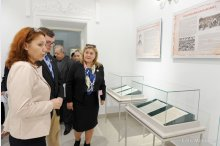 The exhibition titled, Bessarabian acts in Romanian language in the Tsarist period (1812-1917)'