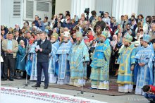 The Chisinau residents mark the city's Dedication Day '