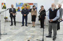 An exhibition by painter Andrei Mudrea was inaugurated at the Constantin Brancusi Centre '