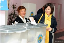 General local elections take place in Moldova '