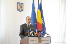 News conference by Romanian Ambassador to Chisinau Daniel Ionita '