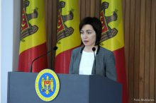 Briefing by Prime Minister Maia Sandu '