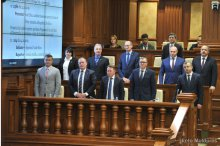 Parliament convenes in plenary meeting'