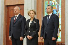 New cabinet sworn in'