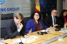 Presentation of economic perspectives for Moldova, unfinished pension system reform, social assistance reform'