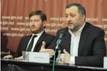News conference by Vlad Filat, team of lawyers'