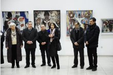 Personal exhibition in memory of artist Gheorghe Munteanu opened at C. Brancusi centre '