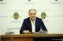 Chisinau mayor Ion Ceban holds news conference '