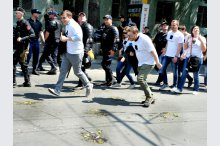 Incidents recorded at No Fear march held in Moldovan capital'
